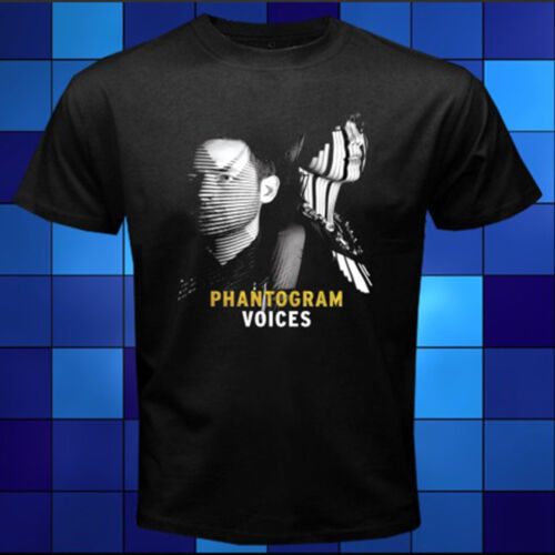 New Phantogram *Voices Rock Duo Group Black T-Shirt Size S M L XL 2XL 3XL