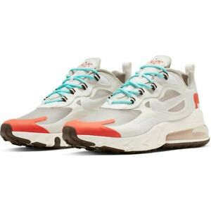 Details about Nike Air Max 270 React AO4971-200 Size 8 - 13 Men's brand new  transparent shoes