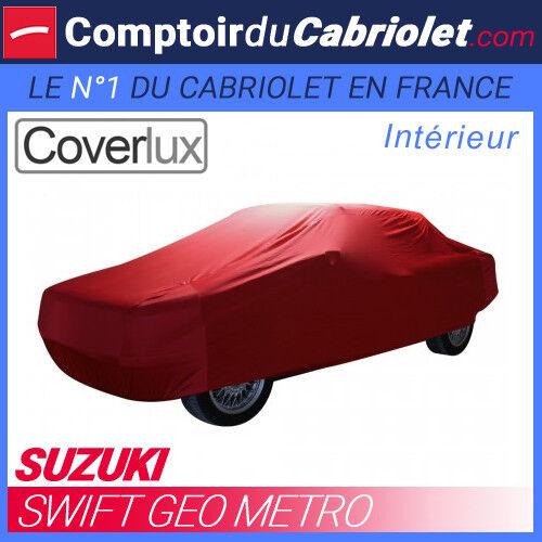 Housse / Bâche protection Coverlux pour Suzuki Swift Geo Metro en Jersey