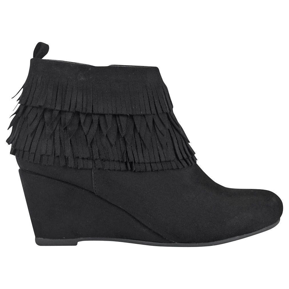 Women's GC shoes Grace Bootie Black Size 9.5  NJCG9-440