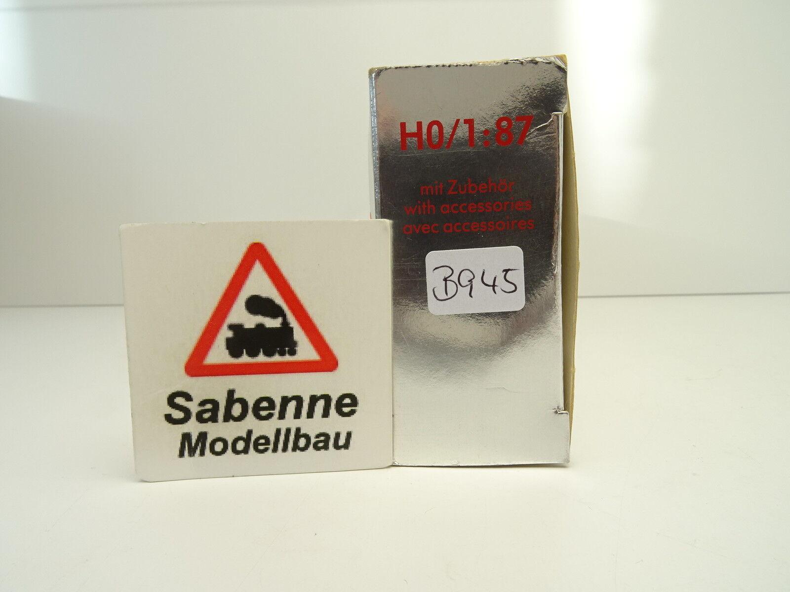 HERPA 1/87 série exclusiveHommes t série 1/87 MB AlfRouge  teves plastique technique uat OVP b945 6344c7
