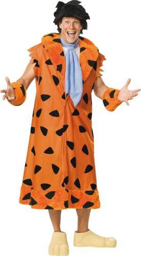 FANCY DRESS COSTUME ~ FRED FLINTSTONE DELUXE STD