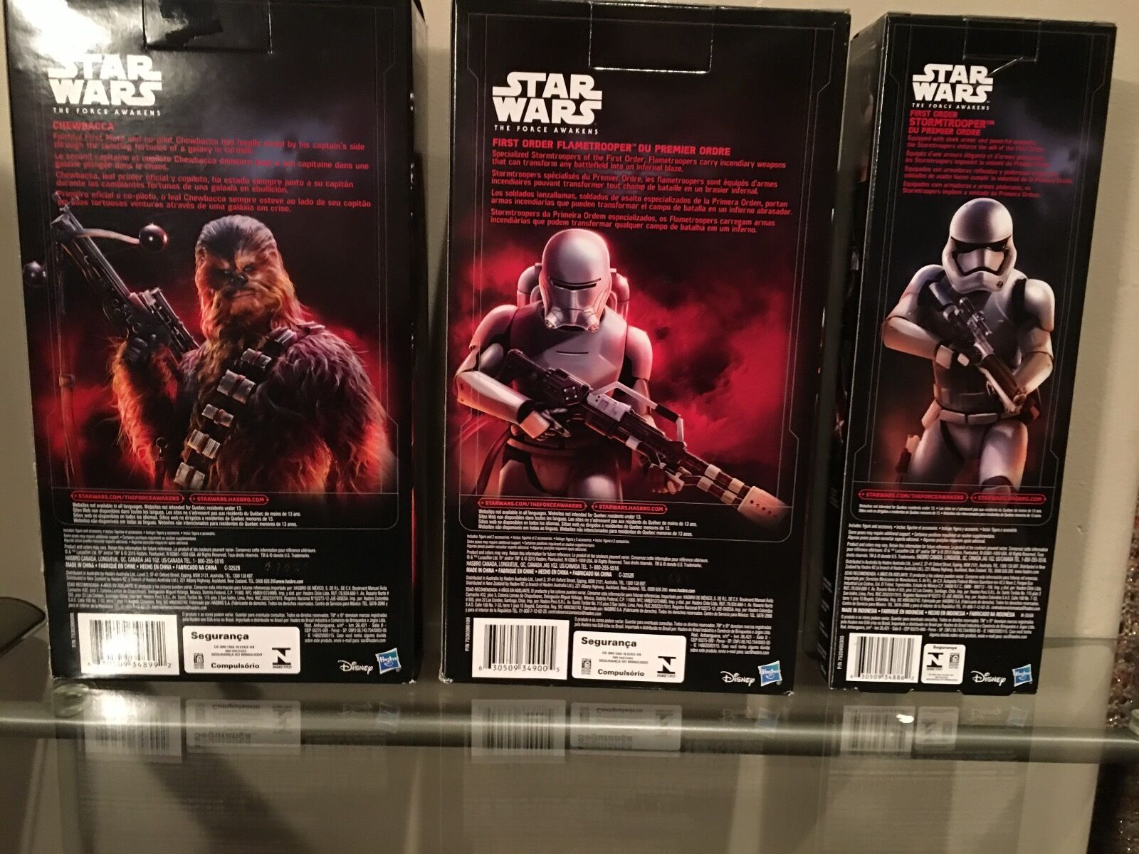 DISCOUNTEDStar Wars THE FORCE AWAKENS 12in COMPLETE (SET of 6) 6) 6) FIGURES 16c31a