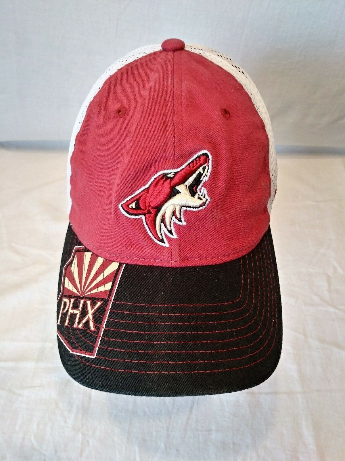 promo code dc2dd 0818a ... purchase arizona coyotes hat nhl hockey reebok mesh truckers hat coyotes  fitted baseball cap l xl