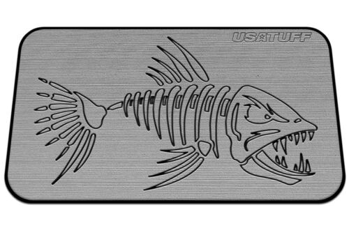 Gray // Black Multi-layer Bonefish Fits 45qt RTIC Cooler Pad USATuff