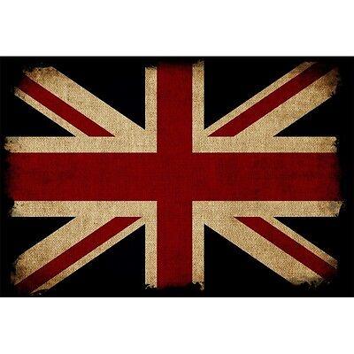 Stickers muraux autocollant déco 16 dimensions réf 1505 Drapeau Union Jack