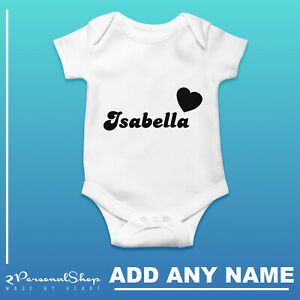 Personalised-Baby-Grow-Vest-Bodysuit-Girl-Or-Boy-Perfect-Gift-Custom