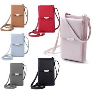 NEW-Womens-Wallet-Purse-Shoulder-Bags-Leather-Coin-Cell-Phone-Mini-Cross-body-UK