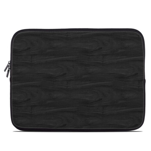 Fits Most Laptops Zipper Sleeve Bag Cover MacBooks Black Woodgrain
