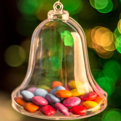 Remplir en forme de Bell Décoration de Noël cadeau faveurs de mariage