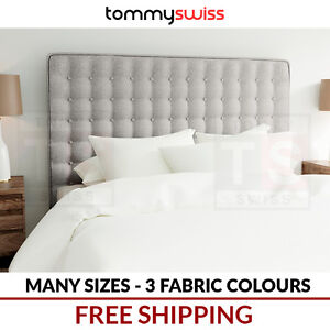 TOMMY-SWISS-Upholstered-Fabric-Bed-Head-Headboard-Double-Queen-King-for-Frame