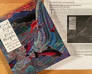 FIRST-FISH-FIRST-PEOPLE-Salmon-Tales-of-the-North-Pacific-Rim-1st-Edition