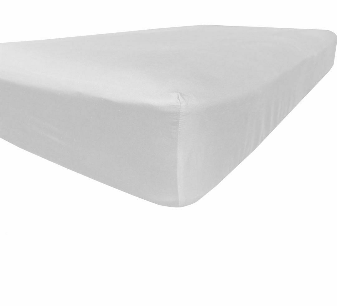 New 1 Qty Fitted Sheet Extra Depth 100% Pima Cotton 1000 TC White Solid