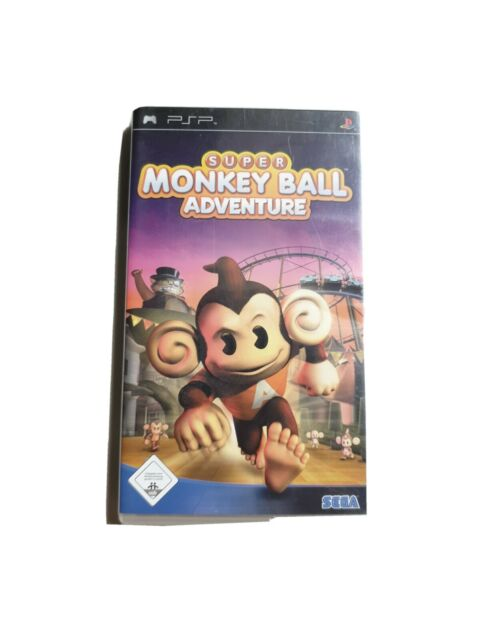 Super Monkey Ball Adventure (Sony PSP, 2006)
