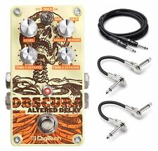 New DigiTech Obscura Altered Delay Guitar Effects Pedal!