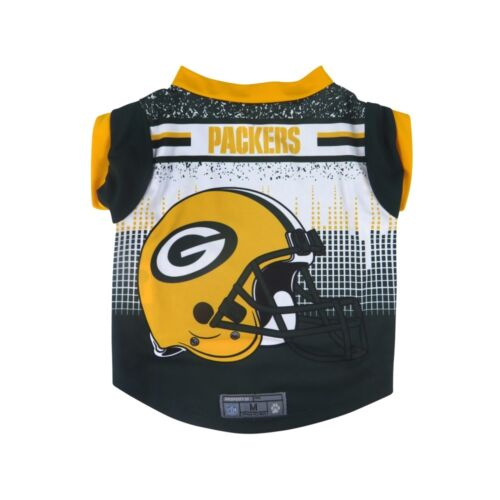 Green Bay Packers LEP NFL Dog Pet Performance Tee Sizes XS-XL