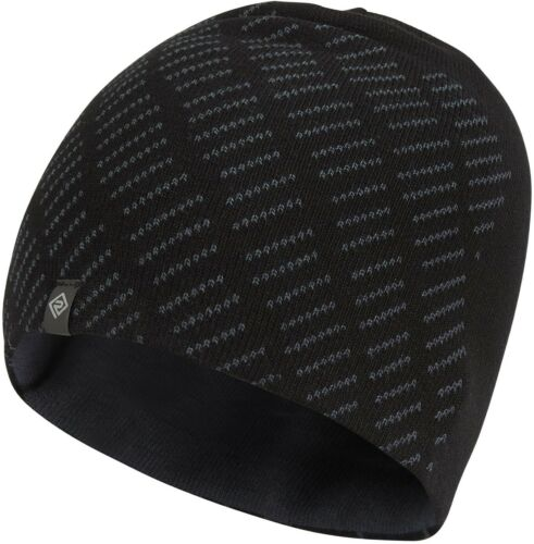 Ronhill Classic Running Beanie Mens Womens Thermal Winter Hat Black