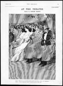 1895-Antique-Print-THEATRE-Dudley-Hardy-Geraudels-Pastilles-Advert-151