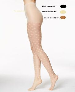 c399cdae37c5c Image is loading Hue-Tights-Classic-Dot-Control-Top-Sheers-1-
