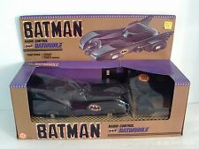 1989 TOY BIZ RADIO CONTROLLED BATMAN BATMOBILE NEW IN BOX