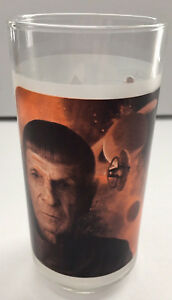 Star-Trek-Spock-Soda-Juice-Glass-James-Kirk-Captain-Leonard-Nimoy-Zachary-Quinto