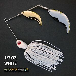 Bassdozer-spinnerbaits-WHIPTAIL-1-2-oz-D-WHITE-spinnerbait-spinner-bait-lure