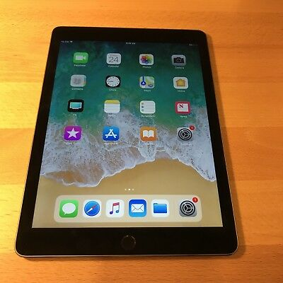 Apple iPad Air 2 128GB Wi-Fi+Cellular (Entsperrt)9,7 Zoll Space Grau Schwarz ##