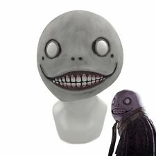 Game NieR:Automata Mask Emil Mask Latex Helmet 2B Halloween Cosplay Prop