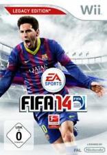 Nintendo Wii +Wii U FIFA 14 Legacy Edition Neuwertig