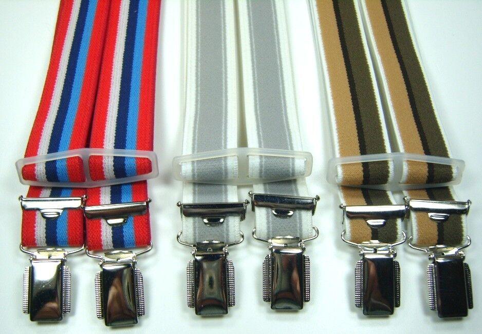 Hosenträger, Betttuchspanner,mit 4 Clips,180cm lang,ca.25mm breit, Veloureff.