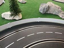 Passend zu Carrera Exclusiv/Evo/Digital 132 Leitplanken 3m weiß