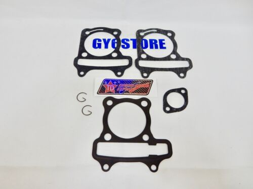 57mm BORE TAIDA PERFORMANCE GY6 150cc CYLINDER GASKET SET 54mm SPACING
