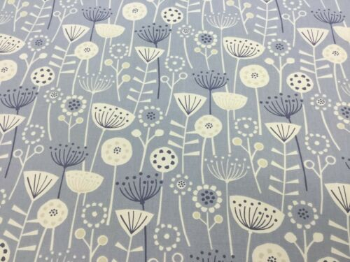 Fryett`s BERGEN Floral Cotton Fabric for Upholstery//Curtains\cushions//Craft