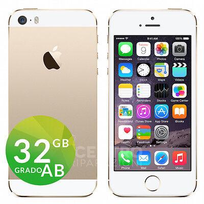 APPLE IPHONE 5S GOLD 32GB ORIGINALE ACCESSORI GARANZIA SPEDIZIONE GRATUITA