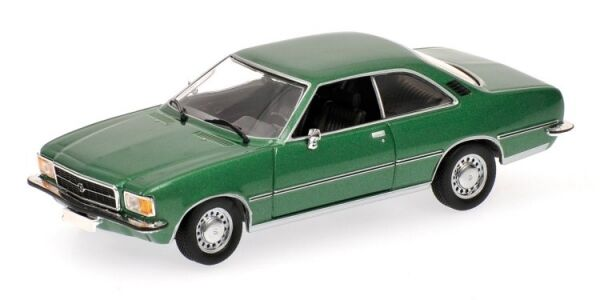 Opel REKORD  D Coupe' 1975 vert Metallic 1 43 model Minichamps  vente pas cher