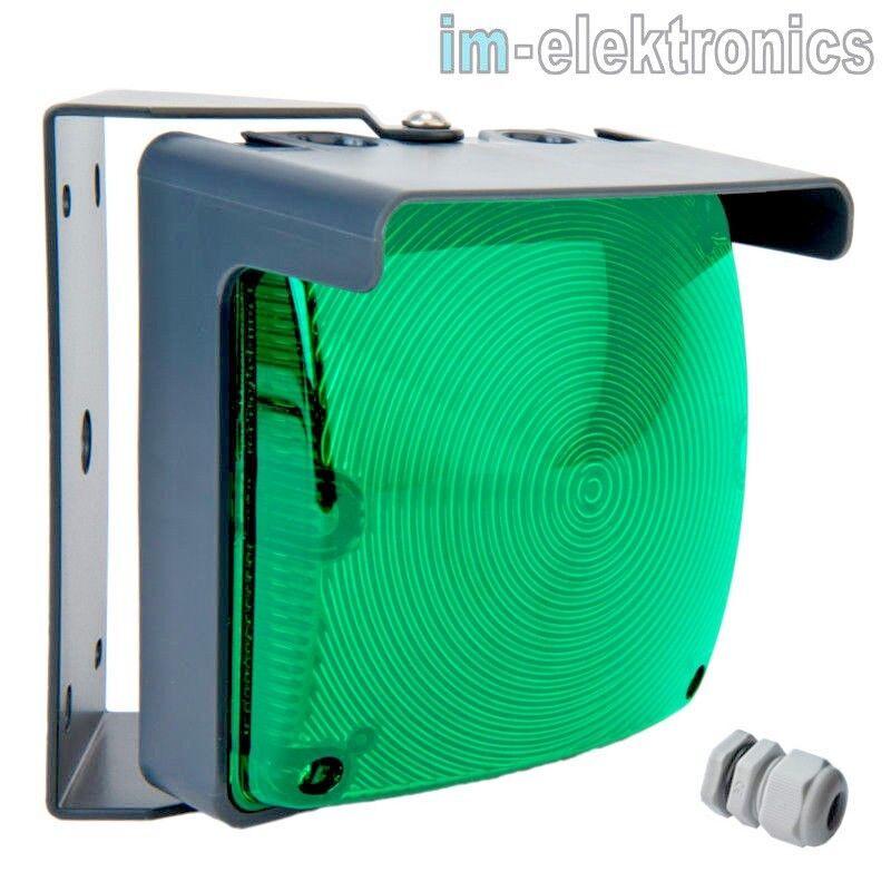 LED Lámpara de Señal verde 24V 230V Semáforo Puerta Accionamiento Garaje