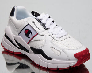 champion honor leather women's low white casual chunky
