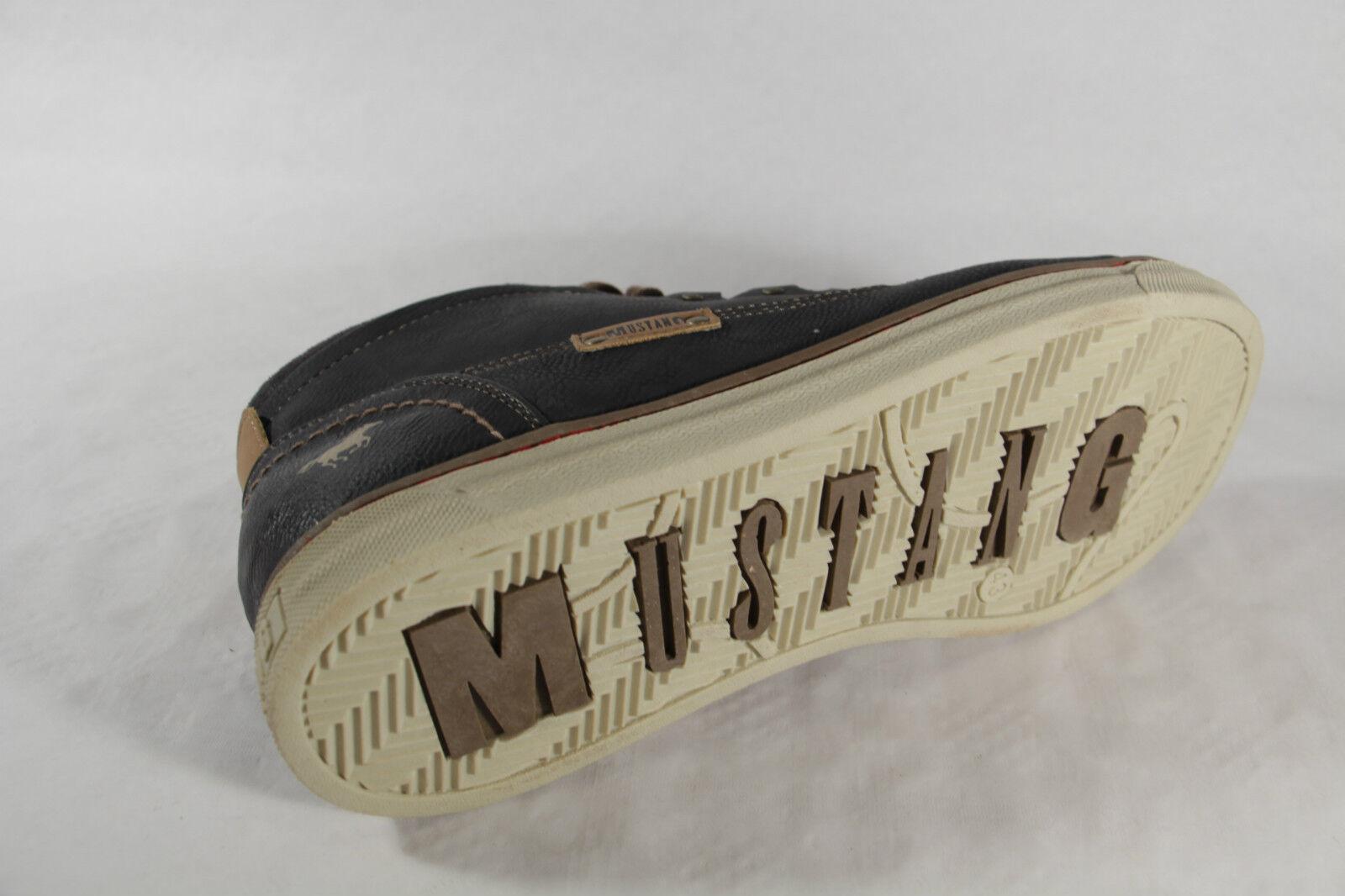 Mustang Stiefel Wechselfußbett Boots Schnürstiefel grau Stofffutter Wechselfußbett Stiefel 4068 NEU e3382d