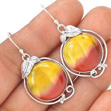 Mookaite 925 Sterling Silver Earrings Jewelry EE6567