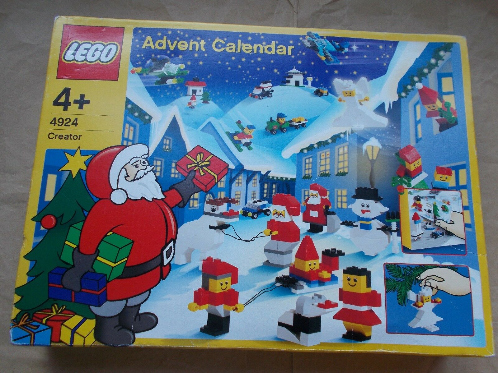 LEGO ADVENT CALENDAR SET  4924 Box Build 24 models 4 Tree Decorations or 4 SCENES  le style classique