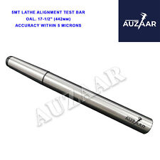 New Lathe Alignment Test Bar Mt5 Alloy Steel Over All Length 17 12 Inch 5mt