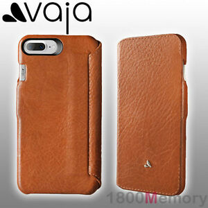 promo code d220e 82043 Details about GENUINE Vaja Agenda MG Premium Leather Case Saddle Tan Apple  iPhone 8 7 Plus 5.5