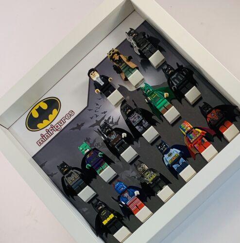 Figurine Display Case Frame LEGO DC Comics Batman Afol minifigs figures