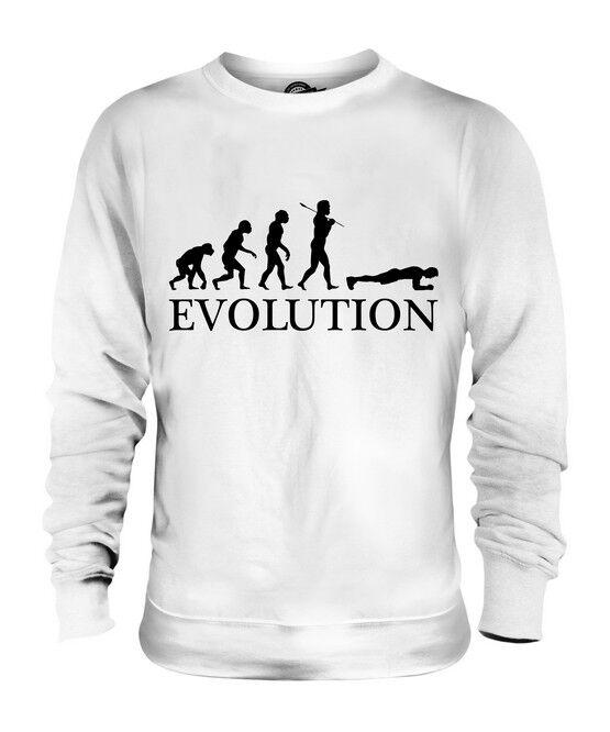 THE PLANK (MALE) EVOLUTION OF MAN UNISEX SWEATER  Herren Damenschuhe LADIES GIFT