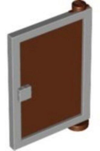 Right LEGO 4981 SpongeBob Door 1 x 4 x 5 w// Reddish Brown Glass