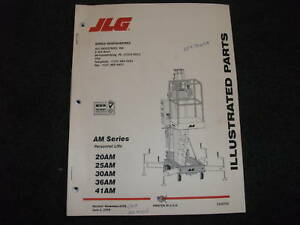 Dur a lift parts manual