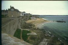 281050 Atlantic Coastline And Seawall At St Malo A4 Photo Print