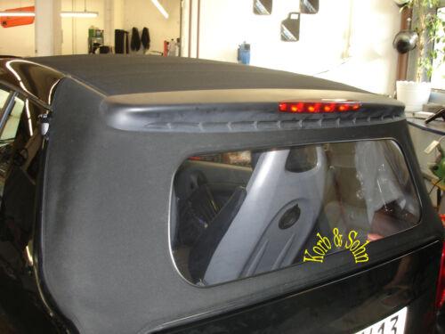 Mcc Smart For2 Cabrio PVC Luna Trasera Rückblickscheibe Parabrisas Renovación