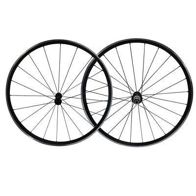 22mm Clincher Kinlin XR200 alloy bike wheels Novatec Hub CN aero spoke