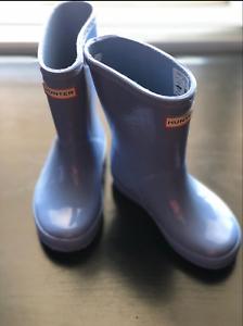 Details About New Girls Classic Starcloud Glitter Hunter Rain Boots Shoes Size 10